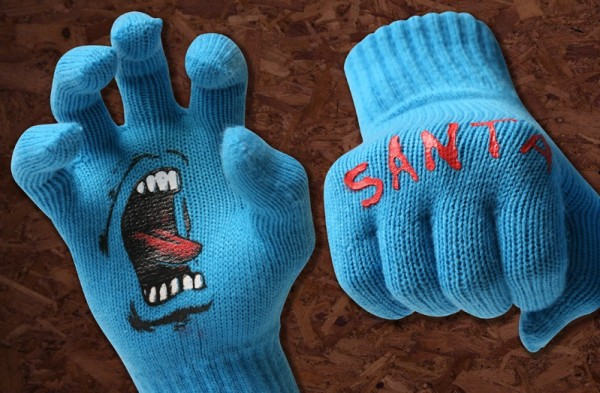 Santa Cruz Screaming Gloves