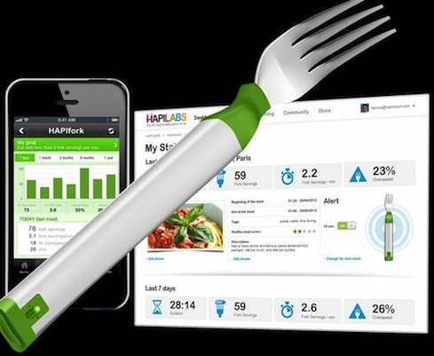 Bluetooth Enabled Smart Fork