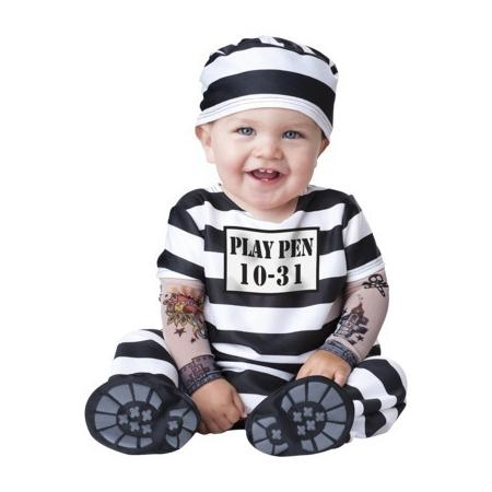 Toddler Prisioner Costume