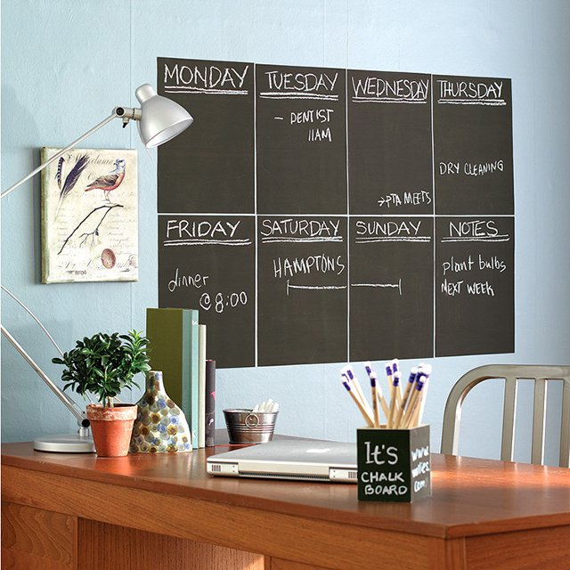 Removable Chalkboard Wallies