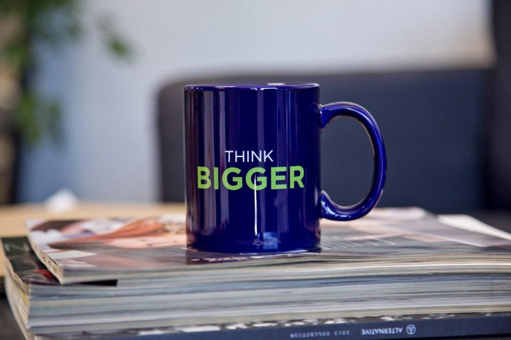 Think Bigger Mug
