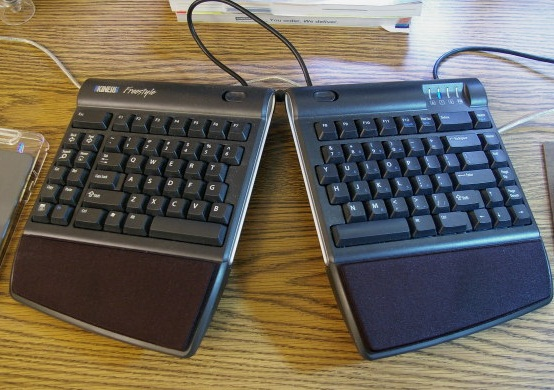 Adjustable Split Keyboard