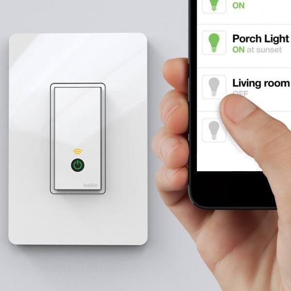 WeMo Wi-Fi Light Switch by Belkin