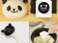 Panda Nori Punch & Rice Mold Kit