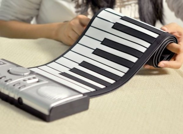 Roll Up Electronic Piano