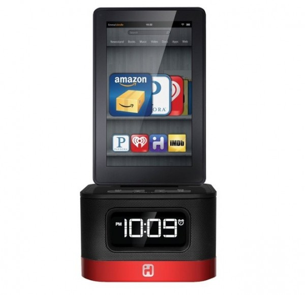 iHome Alarm Clock/Charger for Kindle Fire