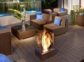 Ventless Outdoor Fireplace
