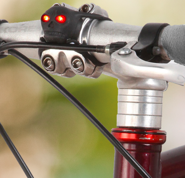 Skull LED Bike Lights