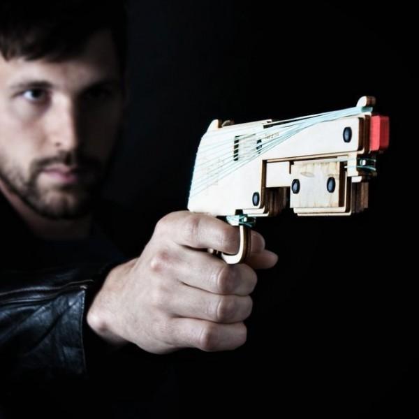 Bandit Outlaw Rubber Band Shotgun