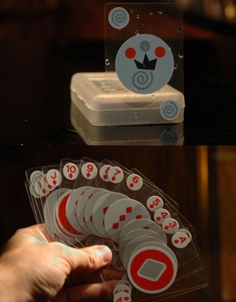 Invisible Waterproof Playing Cards