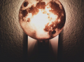 Moon Plug In Night Light by Kikkerland