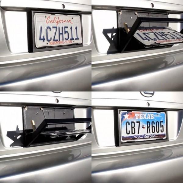 Show N Go License Plate Holder