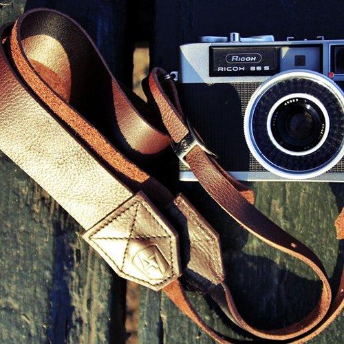 Chocolate Camera Strap