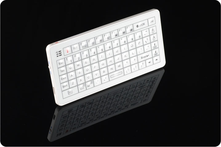 Mini Bluetooth Keyboard in White