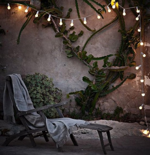 Patio String Light Set