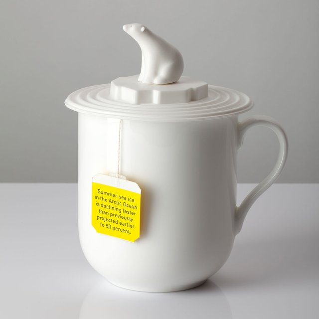 Polar Bear Mug Lid