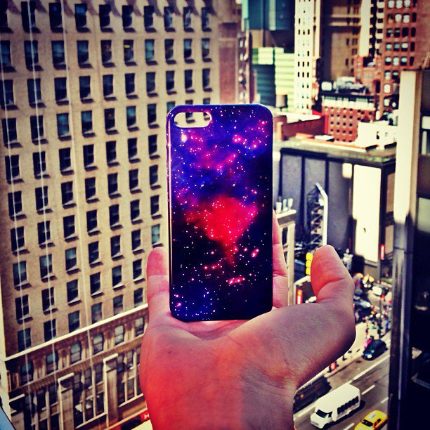 Galaxy iPhone 5 Case by Sprayground