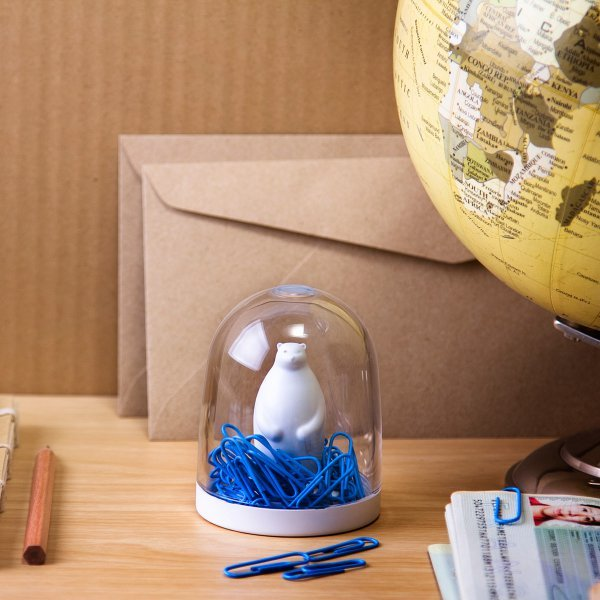 Paper Clip Holder Polar Bear