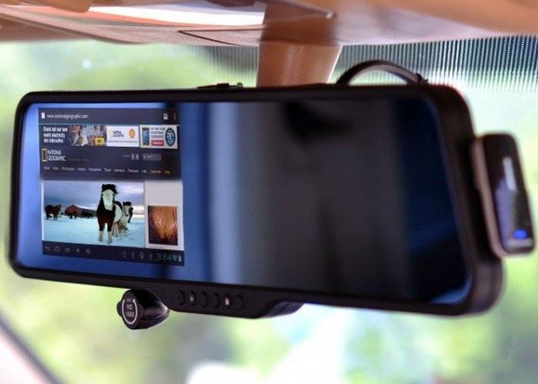 Touchscreen Android Rear View Mirror