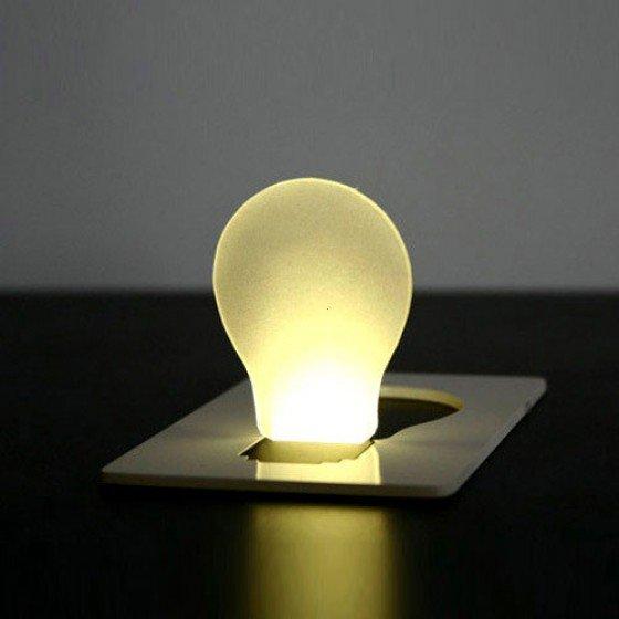 Pocket LED Card Lamp