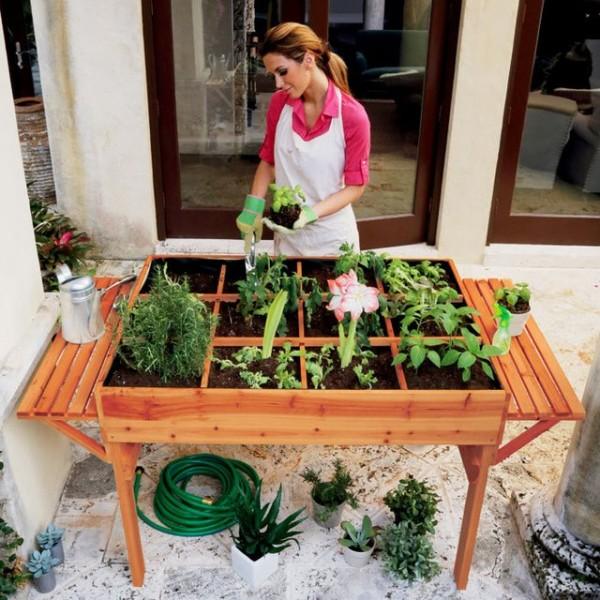 Organic Garden Table
