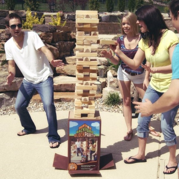 Backyard Block Outdoor Game