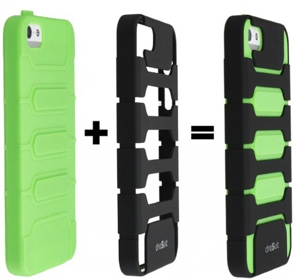 TPU Combo Case for iPhone 5