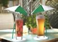 Cocktail Umbrella & Coaster Set