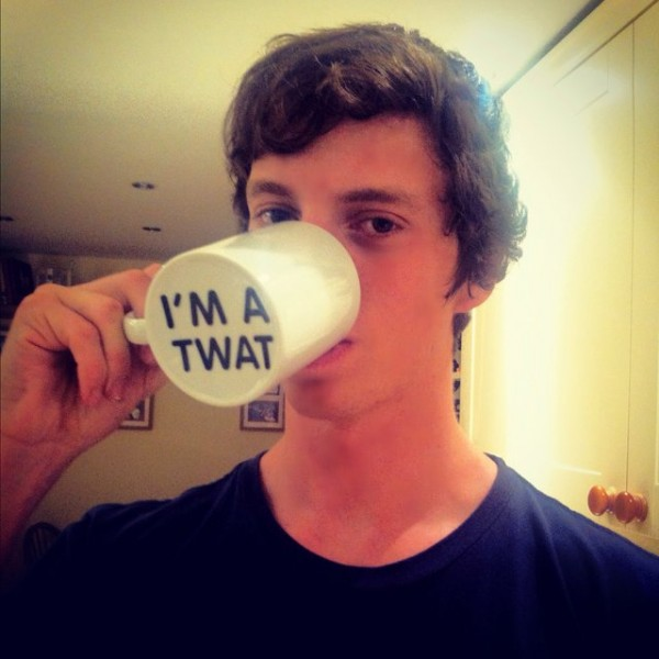 I'm a Twat Surprise Mug