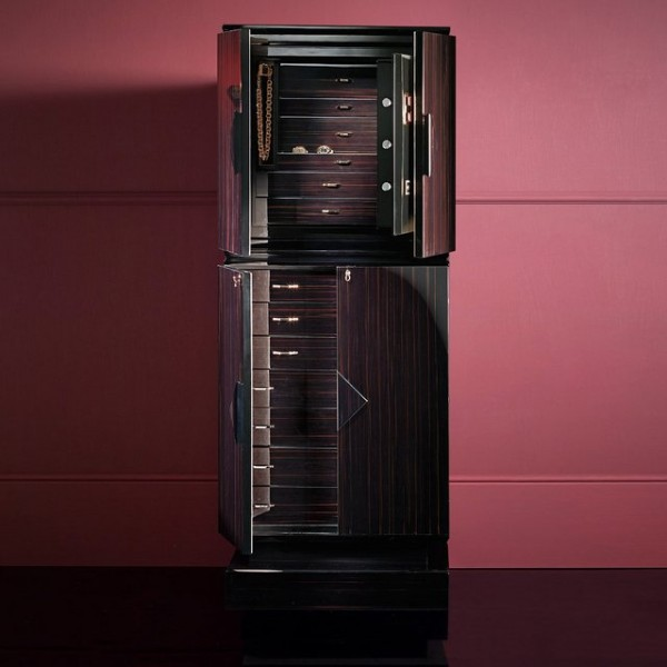 Jewelry Armoire with Safe