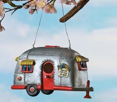 Camper Birdhouse Trailer
