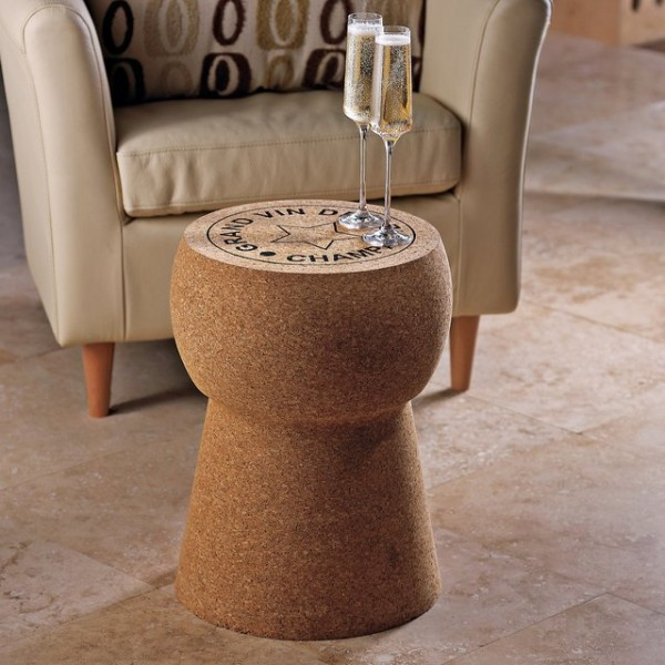 Champagne Cork Stool/Table