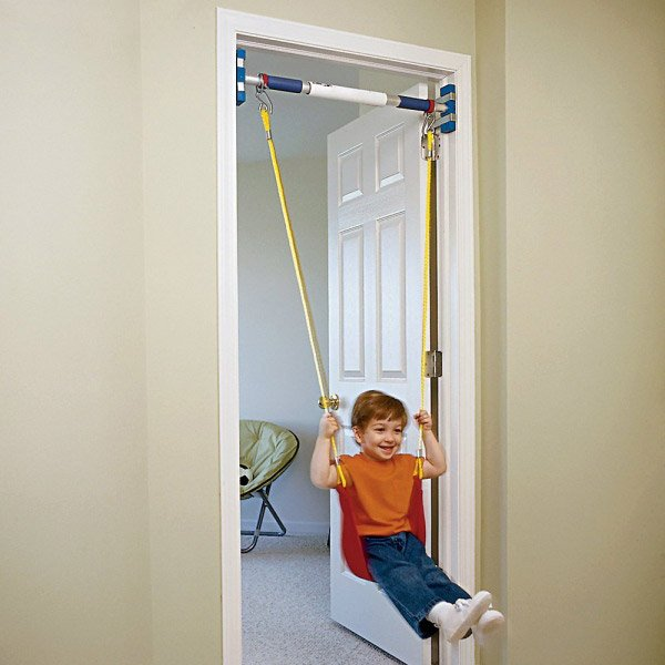 Rainy Day Indoor Swing