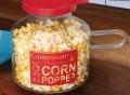 Glass Microwave Corn Popper