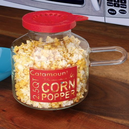 Glass Microwave Corn Popper