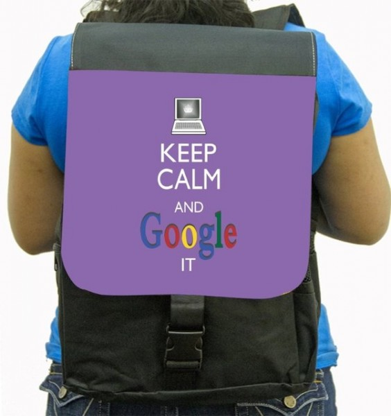 Keep Calm And Google It  Backpack