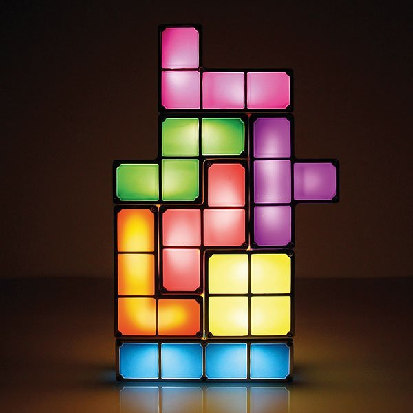 Tetris LED Desk Lamp