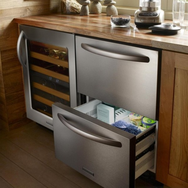 Double Drawer Refrigerator