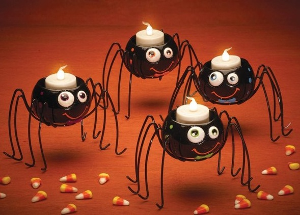 Spider Tealight Holders