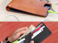 Leather Wallet & iPhone 5 Case by Danny P.