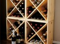 Pine Cube Wine Rack