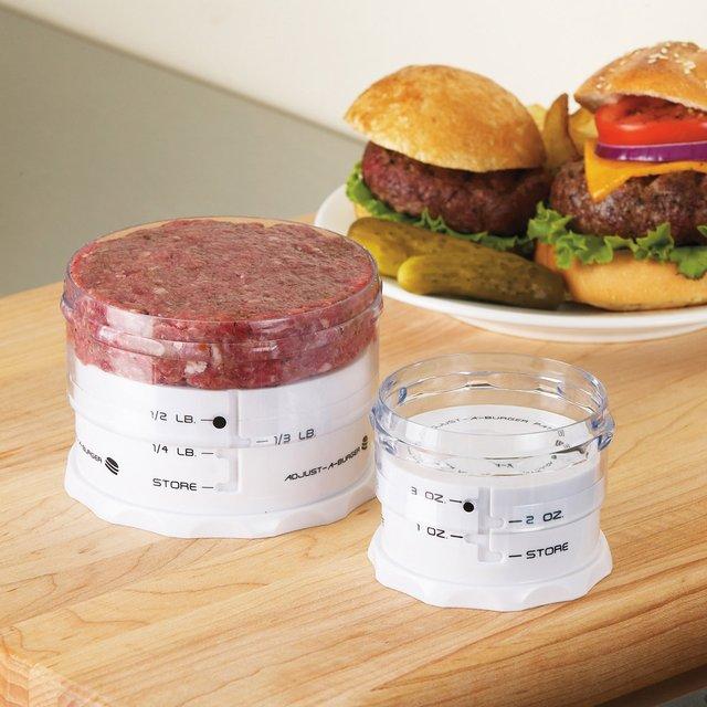 Adjust-A-Burger Press
