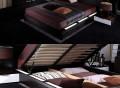 Gamma Modern Platform Bed with Air-Lift