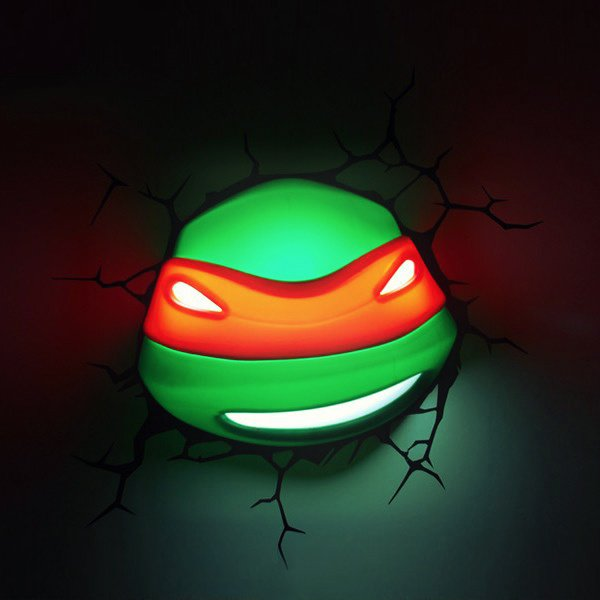 Teenage Mutant Ninja Turtles 3D Nightlight