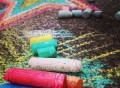 Crayola Glitter Sidewalk Chalk