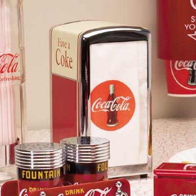 Have A Coke Napkin Dispenser