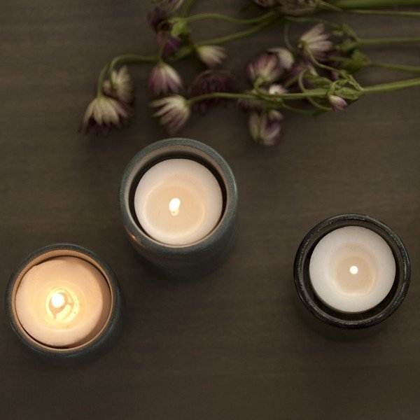 Ekke Stacking Votives by Teroforma