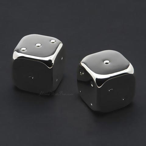 Godinger Dice Salt & Pepper Shakers