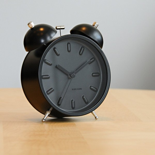 Twin Bell Nude Station Alarm Clock