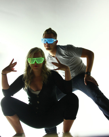 Light Up Shutter Shades by Electric Styles